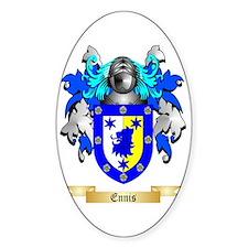 Ennis Sticker (Oval)