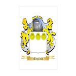 English Sticker (Rectangle 50 pk)