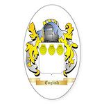 English Sticker (Oval 10 pk)