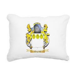 English Rectangular Canvas Pillow