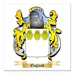 England Square Car Magnet 3
