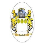 England Sticker (Oval 50 pk)