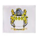 England Throw Blanket