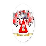 Endrighi Oval Car Magnet