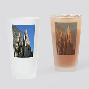 St. Patricks Cathedral Spires Drinking Glass