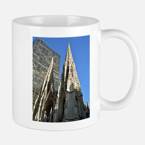 St. Patricks Cathedral Spires Mugs