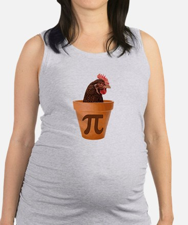 Chicken Pot Pi (and I dont care) Maternity Tank To