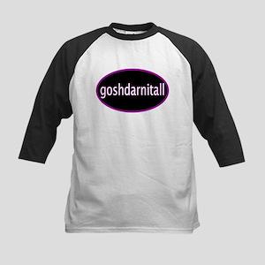 Goshdarnitall Kids Baseball Jersey