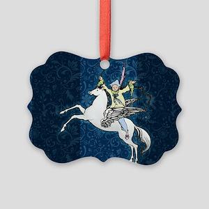 Pegasus Flying Horse Fantasy Ornament