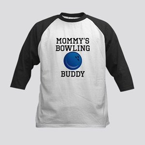 Mommys Bowling Buddy Baseball Jersey