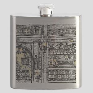 Alcazar Front Desk Flask