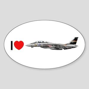 VF-51 Screaming Eagles Oval Sticker