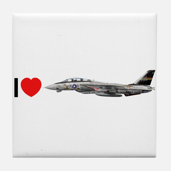VF-51 Screaming Eagles Tile Coaster