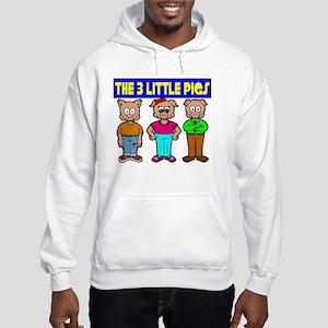 3 Little Pigs Hooded Sweatshirt