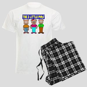 3 Little Pigs Men's Light Pajamas