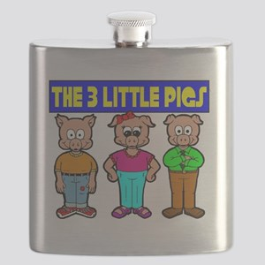 3 Little Pigs Flask