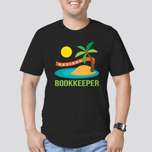Retired Bookkeeper Men's Fitted T-Shirt (dark)