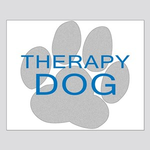 Therapy Dog Small Poster