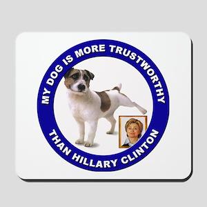 Anti Hillary Clinton Mousepad
