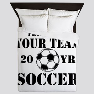 Personalized Property of Your Team Soccer Queen Du