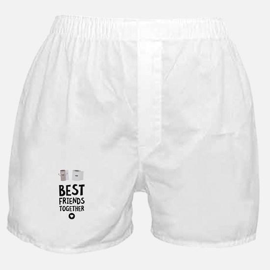 Toiletpaper Best friends Heart Boxer Shorts