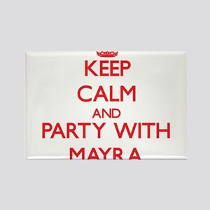 Keep Calm and Party with Mayra Magnets