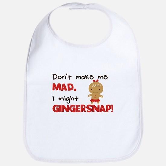 I Might Gingersnap! Bib