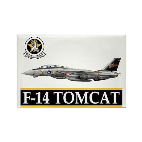VF-51 Screaming Eagles Rectangle Magnet (10 pack)