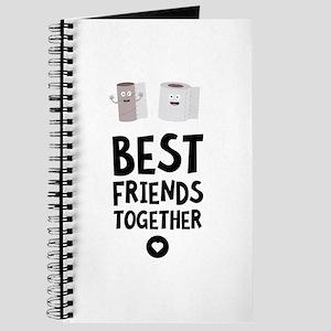 Toiletpaper Best friends Heart Journal