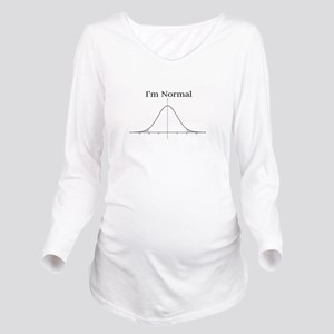 Im normal Long Sleeve Maternity T-Shirt