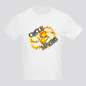 Alien Circle Makers Red N Yellow Kids Light T-Shir