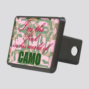 Pink Camo Hitch Cover