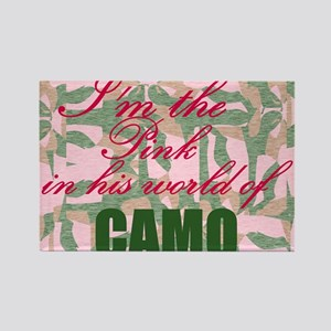 Pink Camo Magnets