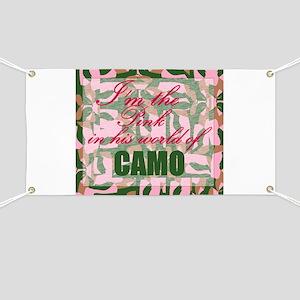 Pink Camo Banner