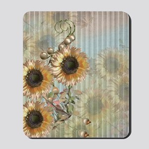 Country Sunflowers Mousepad