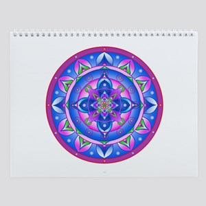 Color Mandala Wall Calendar