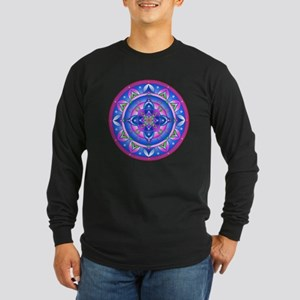 Color Mandala Long Sleeve T-Shirt