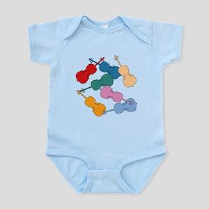Colorful Cellos Infant Bodysuit