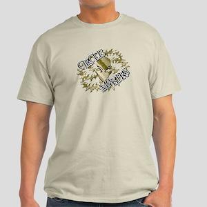 Alien Circle Makers Brown Light T-Shirt