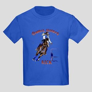 Barrel Horses Rock Trans T-Shirt