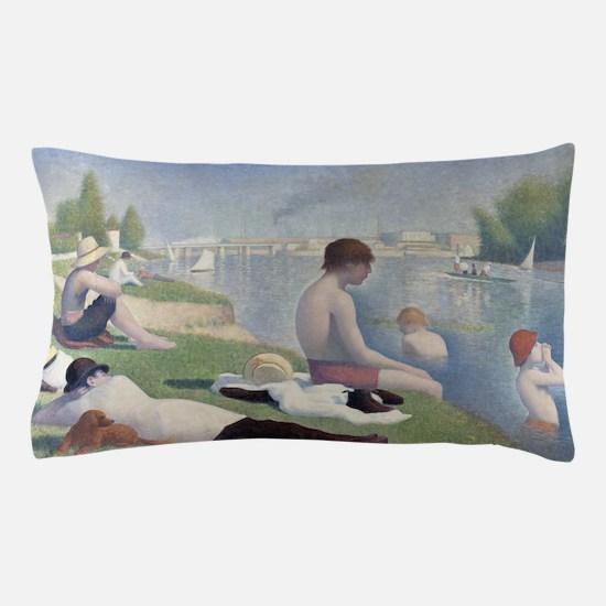 Bathers at Asnieres Pillow Case