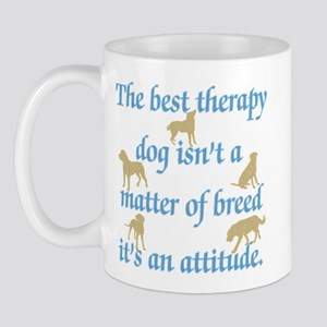 Best Therapy Dog Mug
