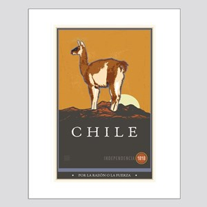 Chile Small Poster