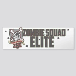 Zombie Squad Elite Car Decal (Bumper)