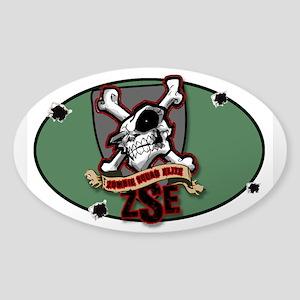 ZSE Patch Sticker (Oval 10 Pk)