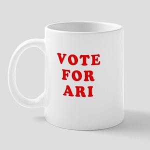Vote For Ari Mug