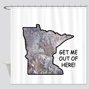 Frozen in Minnesota: get me out of here! Shower Cu