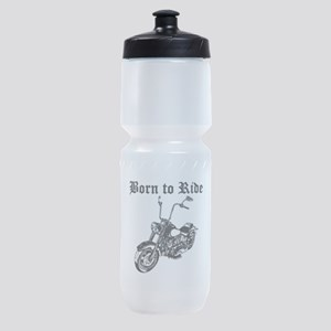 Born To Ride Motorcycle Sports Bottle