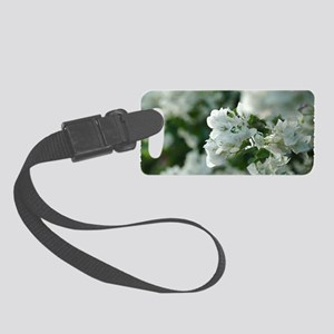 White Hibiscus  Small Luggage Tag