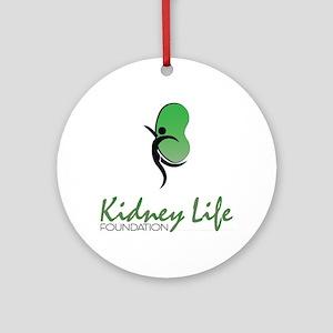 Kidney Life Ornament (Round)